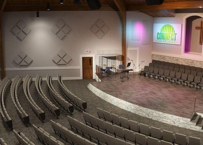 Ahli Desain Akustik ruangan gereja